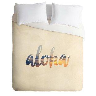 East Urban Home Aloha HawaII Duvet Cover Set
