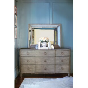 Marquesa 9 Drawer Dresser With Mirror