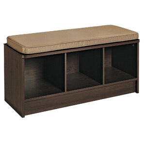Cubeicals Upholstered Storage Entryway Bench