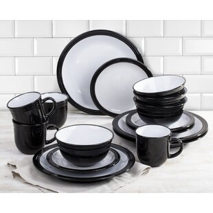 Black Dinner Sets  sc 1 st  Wayfair & Black Dinner Sets   Wayfair.co.uk