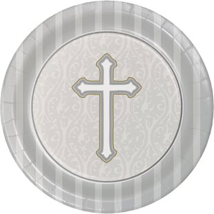 Devotion Paper Dessert Plate (Set of 24)