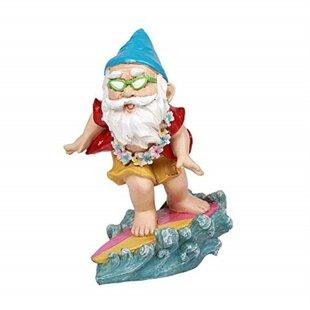 Westphalia Surfer Boy Free Spirited Hippie Hawaii Themed Vacation Fairy Garden By August Grove
