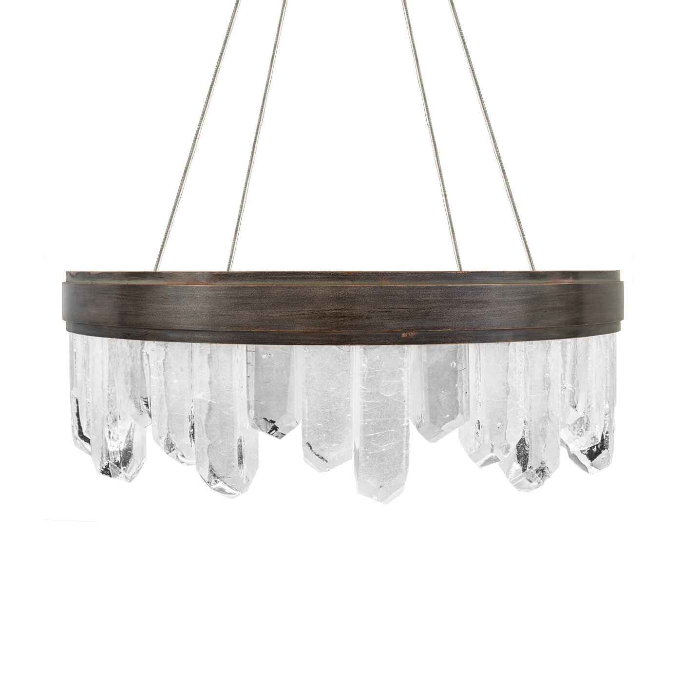 Fine Art Lamps Lior 12 Light Unique Statement Wagon Wheel Chandelier Perigold