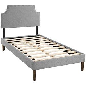 Preciado Upholstered Platform Bed by Varick Gallery