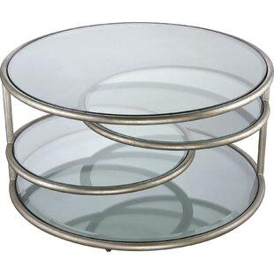 Buy clear Gaertner Coffee Table ByBrayden Studio