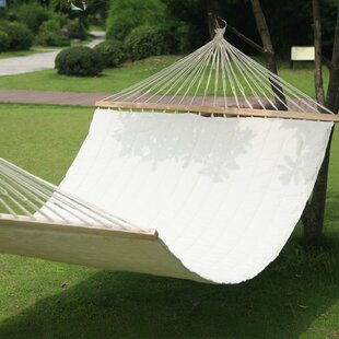 Adeco Trading Hanging Suspended Double Tree Hammock