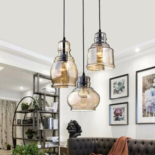 Exceptionnel Analia Vintage 3 Light Cluster Pendant