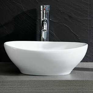 Save To Idea Board Fine Fixtures Modern Oval Vessel Bathroom Sink