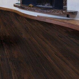 "AllAmericanHardwood Cottage 6"" x 48"" x 12mm Laminate Flooring  Color: Tobacco Ash"