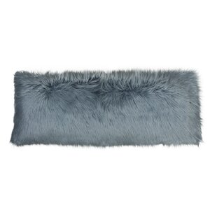 Hartt Mongolian Faux Fur Throw Pillow