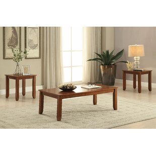 Marcellina 3 Piece Coffee Table Set by Winston Porter