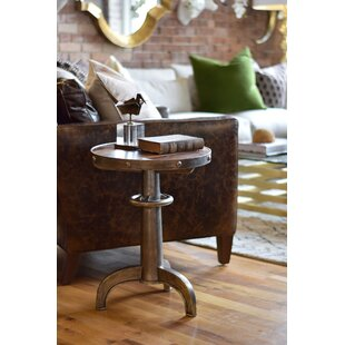Dvorak Industrial End Table by 17 Stories