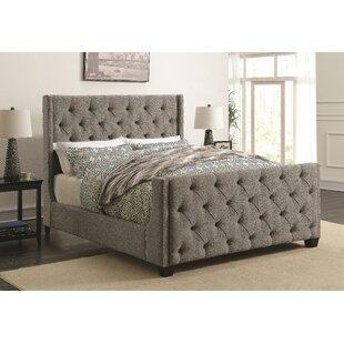 Lattin Coaster Upholstered Panel Bed