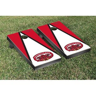 Victory Tailgate NCAA Triangle Wooden Version 1 Cornhole Game Set