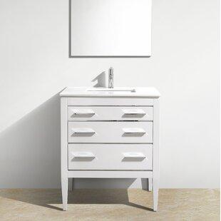 Yamashita 30'' Single Bathroom Vanity Set