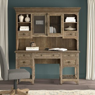 Ellenton Secretary Desk With Hutch by Greyleigh