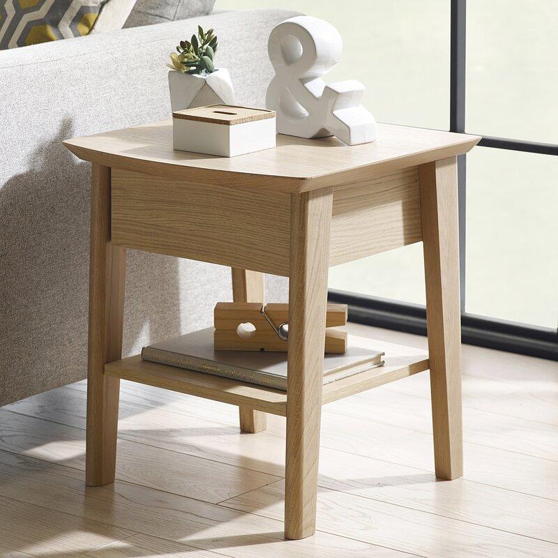 castleton home beistelltisch calcott mit stauraum. Black Bedroom Furniture Sets. Home Design Ideas