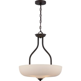 Winston Porter Craine 3-Light Bowl Pendant