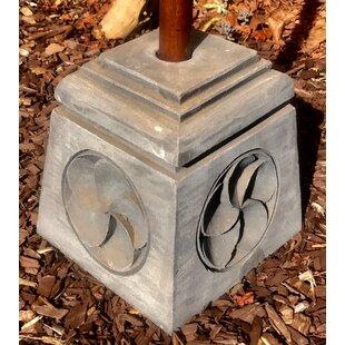 Naugle Concrete Free Standing Base Umbrella Stand