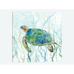Poster Hawksbill Turtle Art//Canvas Print Wall Art Home Decor