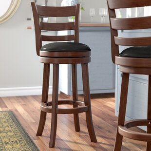 Terranova Bar & Counter Swivel Stool by Charlton Home