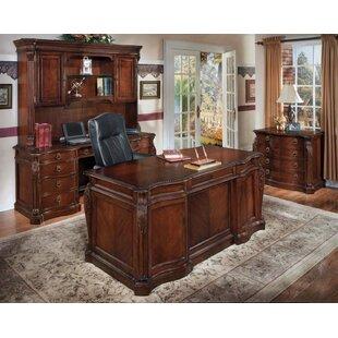 Astoria Grand Drumankelly 4-Piece Standard Desk Office Suite