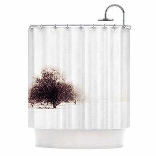 Winter Landscape Single Shower Curtain