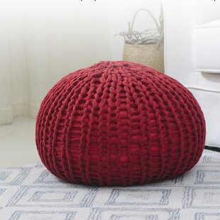 Brisco 18 Round Pouf Ottoman by Ebern Designs