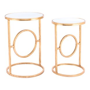Holsinger 2 Piece Nesting Table Set by Mercer41
