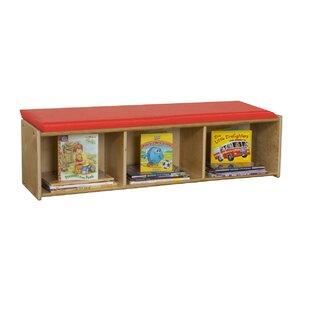 Wood Designs Upholstered Storage Bench