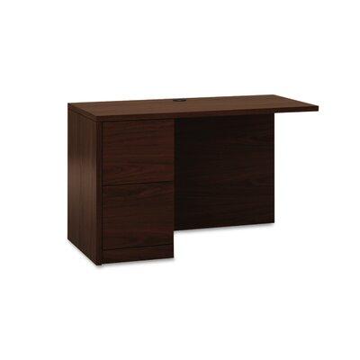 10500 Series 295 H x 48 W Desk Return HON Finish Mahogany Location Left