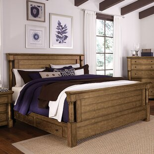 Burndale Storage Panel Bed