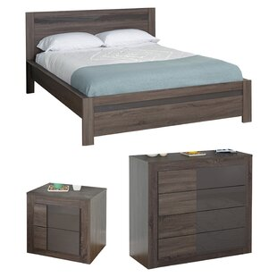 Joshua Queen Platform Configurable Bedroom Set