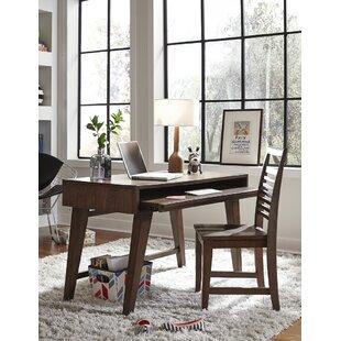 Schuster Solid Wood Writing Desk by Brayden Studio 2019 Sale