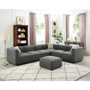 Wrought Studio Judd Modular Sectional wit..