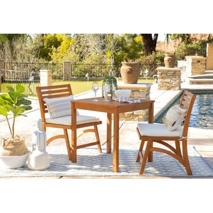 Bistro Wood Patio Dining Sets You Ll Love In 2021 Wayfair