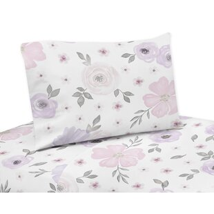 Watercolor Floral Sheet Set