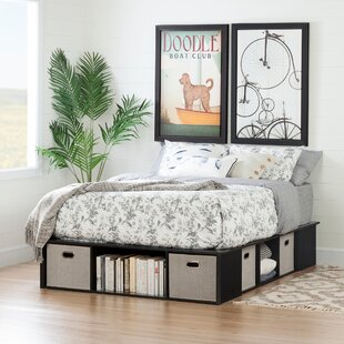 Affordable Price Flexible Storage Platform Bed by South Shore Reviews (2019) & Buyer's Guide