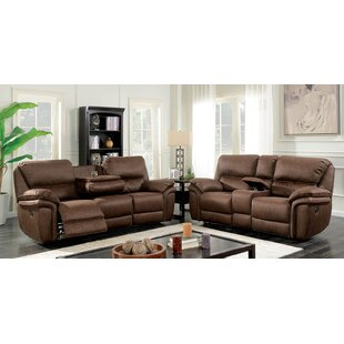 Red Barrel Studio Hellman Transitional Manual Wall Hugger Configurable Living Room Set