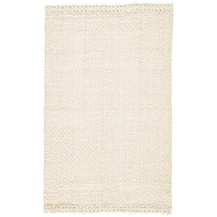 Tate Hand Woven White Area Rug By Gracie Oaks