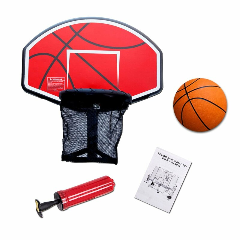 Exacme Trampoline Basketball Hoop with Ball & Reviews ...