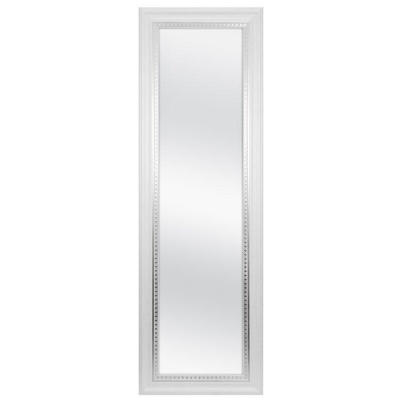 Superieur Farmhouse Over Door Woodgrain Full Length Wall Mirror