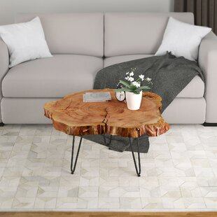 Wrought Studio Etchison Acasia Wood Coffee Table