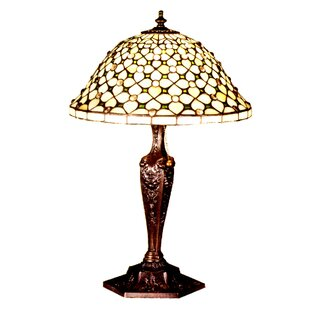 Victorian Gothic Diamond and Jewel 22 Table Lamp
