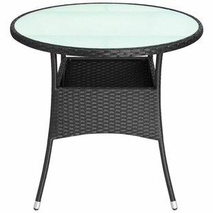 Burroughs Rattan Bistro Table Image