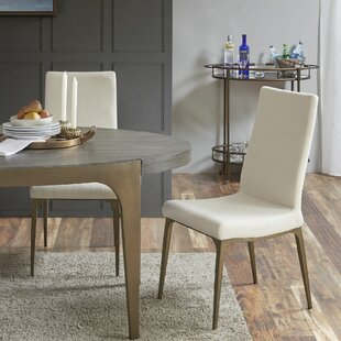 Cartagena Upholstered Dining Chair (Set of 2) Union Rustic