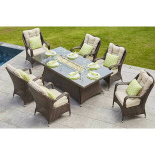 Firepit Table And Chairs   Wayfair