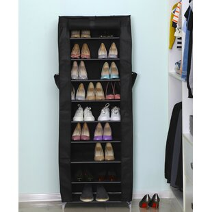 27 Pair Shoe Rack By Rebrilliant