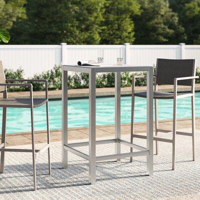 Royalston Glass Bar Table by Brayden Studio Coupon