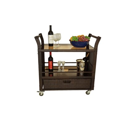 Horrell Bar Serving Cart by World Menagerie 2020 Online